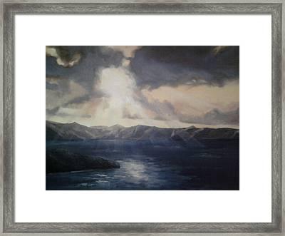 Tropical Dawn Framed Print by Paul Morgan