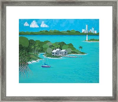 Tropical Idyll Framed Print