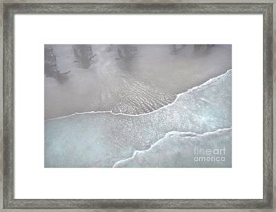 Tropical Reflections B Framed Print by Cindy Lee Longhini