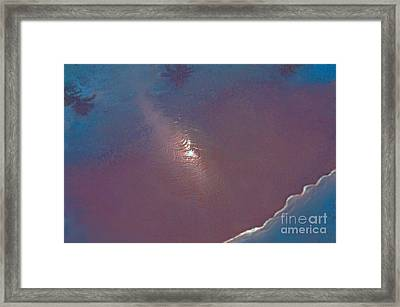 Tropical Reflections Framed Print by Cindy Lee Longhini