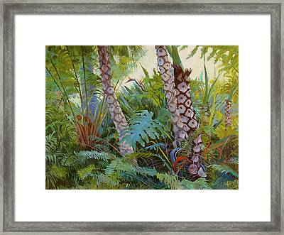 Tropical Underwood Framed Print