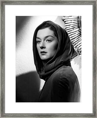 Trouble For Two, Rosalind Russell, 1936 Framed Print