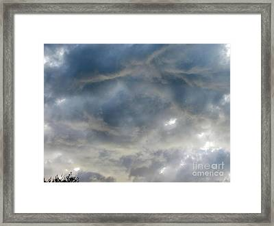 Troubled Sky Framed Print by Greg Geraci