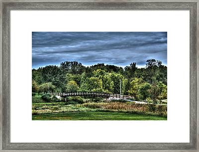 Troubled Water Framed Print by Dan Crosby