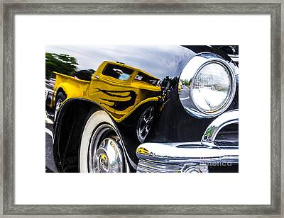 Truck Reflection Framed Print by Ursula Lawrence