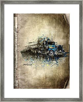 Truck Framed Print by Svetlana Sewell
