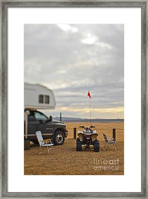 Truck, Trailer And Atv Framed Print by Eddy Joaquim