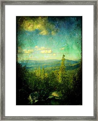 Truckee Trails Framed Print