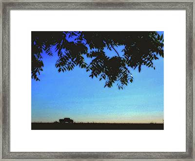 Truckin' Framed Print by Molly McPherson