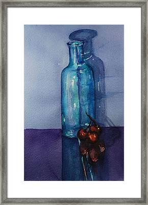 True Friends Are Transparent Framed Print by Donna Pierce-Clark