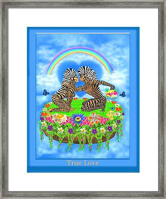 True Love Framed Print by Glenn Holbrook