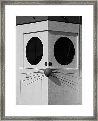 Truly Nolen Rat In Black And White Framed Print by Rob Hans