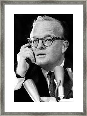 Truman Capote As He Appeared Framed Print by Everett