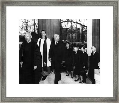 Truman Presidency. From Left Cathedral Framed Print by Everett