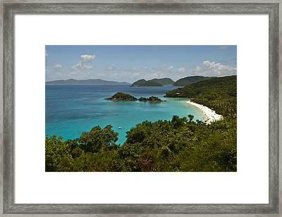 Trunk Bay 1 Framed Print