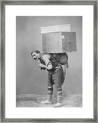 Trunk Bearer Framed Print by P L Sperr