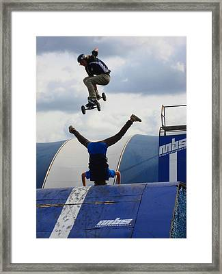 Trusted Friends Framed Print by Kym Backland