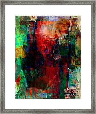 Truth About Famine Framed Print by Fania Simon