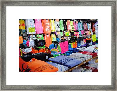 T's  Framed Print by Skip Willits