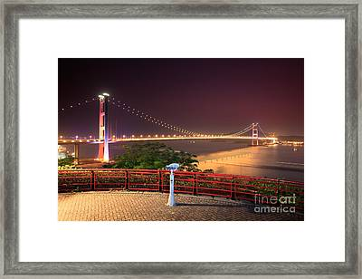 Tsing Ma Bridge Framed Print by MotHaiBaPhoto Prints