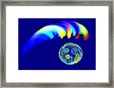 Tsunami Framed Print by Maxwell Kerr