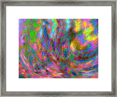 Tsunami Framed Print by Vidka Art