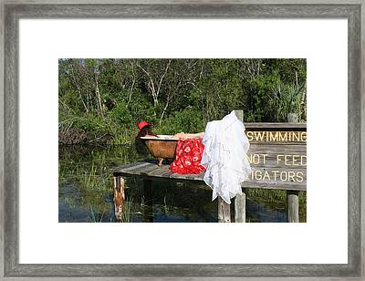 Tubs 012 Framed Print by Lucky Cole