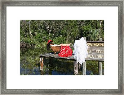 Tubs 013 Framed Print by Lucky Cole