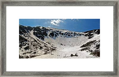 Tuckermans Ravine Framed Print