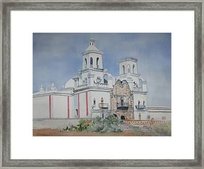 Tucson Mission Framed Print