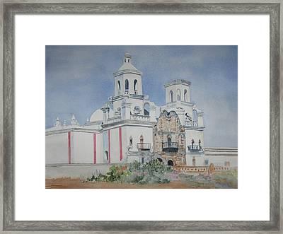 Tucson Mission Framed Print