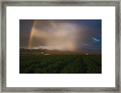 Tucson's Promise Framed Print by Keith Sanders