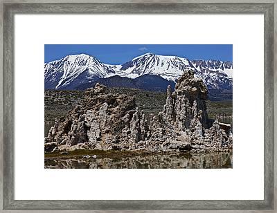 Tufa At Mono Lake California Framed Print