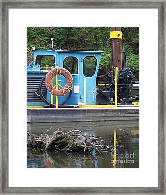 Tug Boat Framed Print by Tammy Ishmael - Eizman