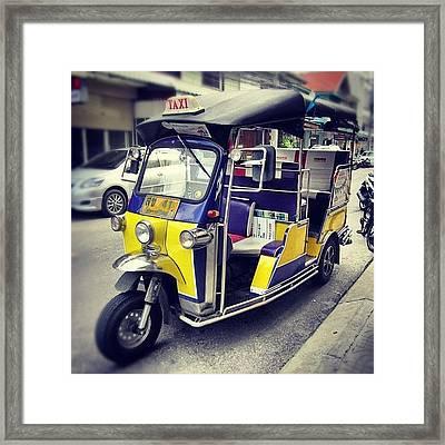 #tuk Tuk #thailand Framed Print