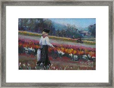 Tulip Heritage Framed Print by Pamela Pretty