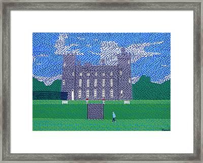 Tullynally Castle Ireland Framed Print