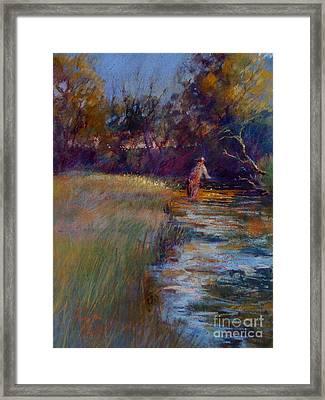 Tumbling Waters Framed Print by Pamela Pretty