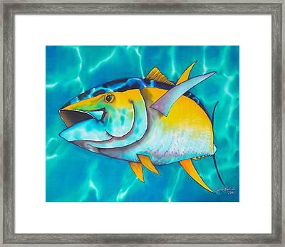 Tuna Framed Print by Daniel Jean-Baptiste