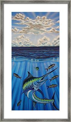 Tuna Roll Framed Print by Marty  Calabrese