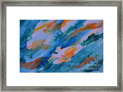 Tuna Run Framed Print