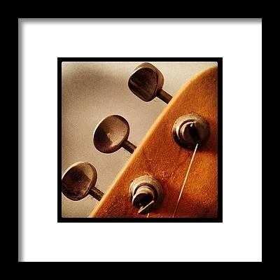 Guitar Framed Prints
