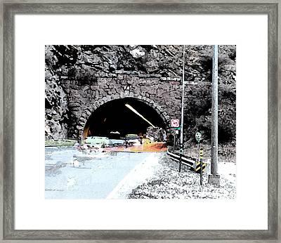 Tunnel 1 Clear Creek Canyon Framed Print by Bill Kennedy