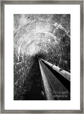 Tunnel Framed Print by Gaspar Avila