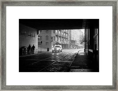 Framed Print featuring the photograph Tunnel I by Lynn Palmer