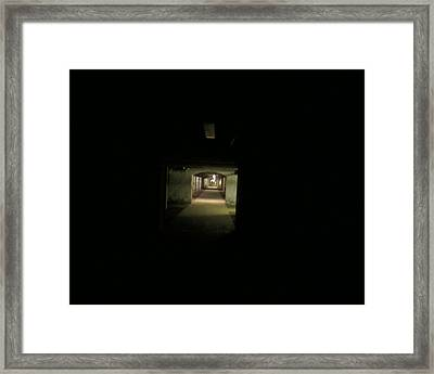 Tunnel Framed Print by Linda Hutchins