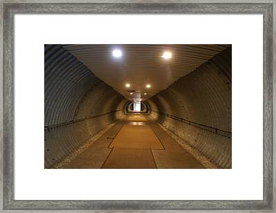 Tunnel Framed Print by Margaret Steinmeyer