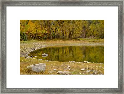 Tunnel Pond Framed Print by Idaho Scenic Images Linda Lantzy