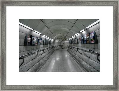Tunnel Framed Print by Svetlana Sewell