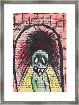 Tunnel Vision Framed Print by Jera Sky